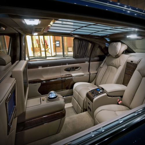 Maybach Interior   The Closest Iu0027ll Ever Be To One