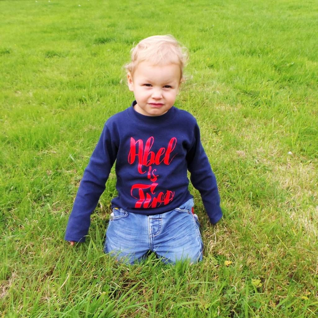 Photo of Personalised 2nd Birthday Top