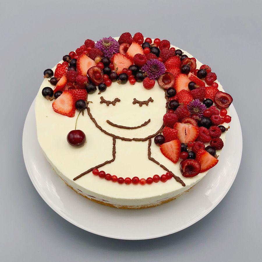 36+ Torte mit beeren dekorieren ideen