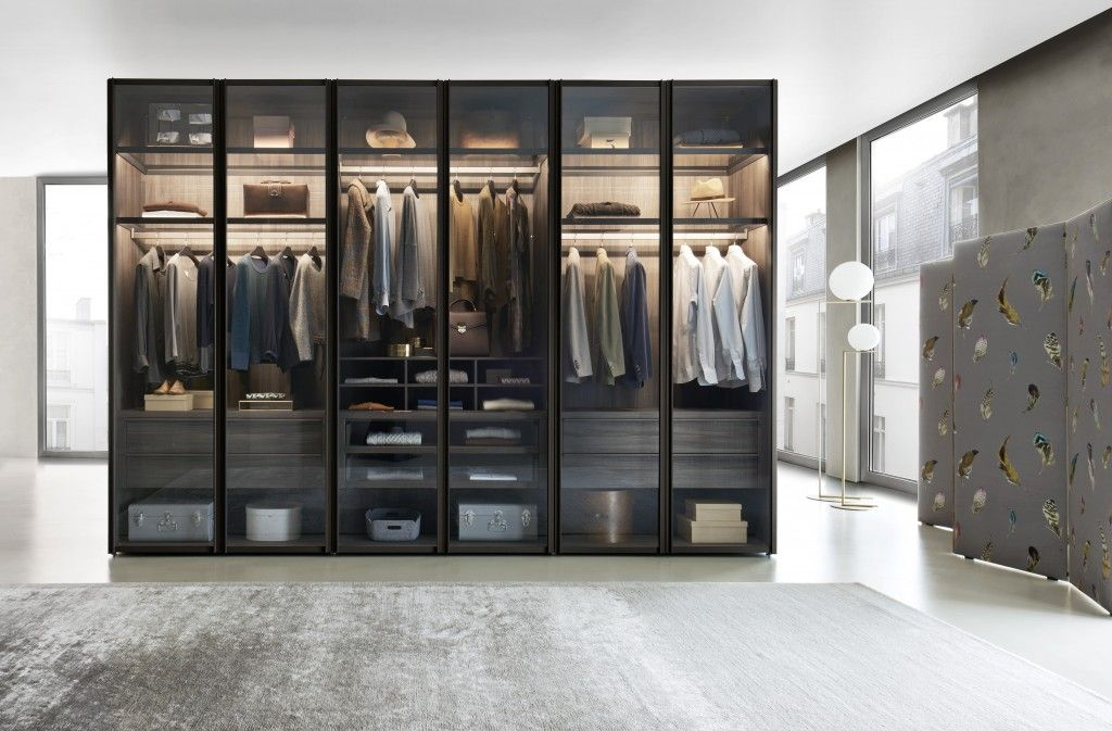 WalkIn Closets In NJ Glass wardrobe, Wardrobe design