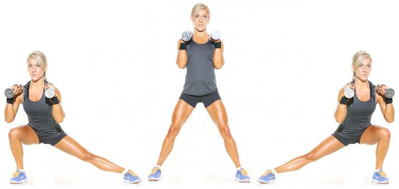 Image result for Lateral Lunges exercise