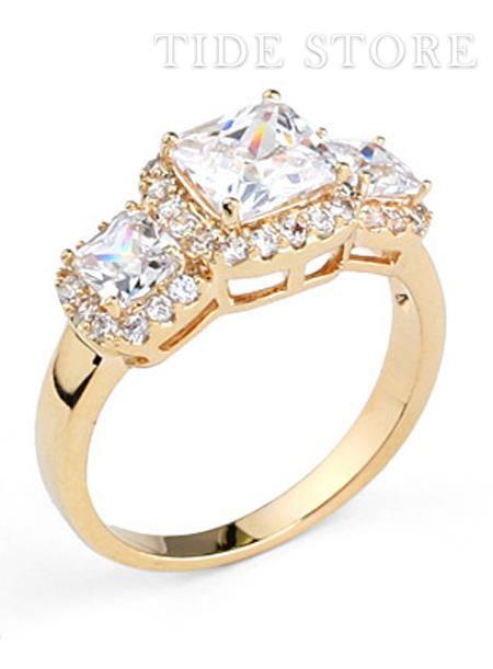 US$22.99 New Fashion Euramerican Exquisite Zircon Diamond Soft Ring. #Rings #Zircon #Diamond #New