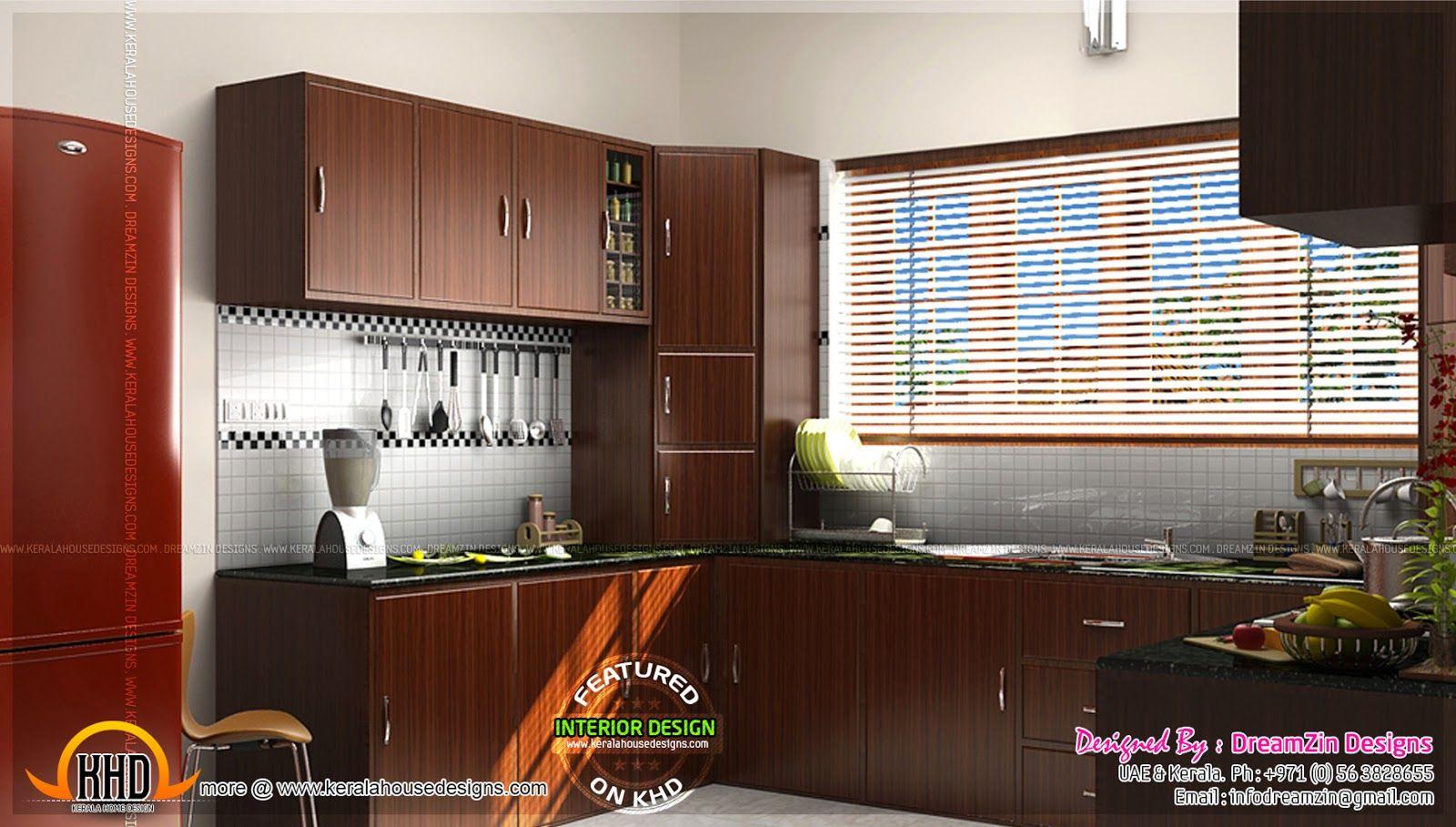 Contemporary Kerala Kitchen Work Area Design Decoomo