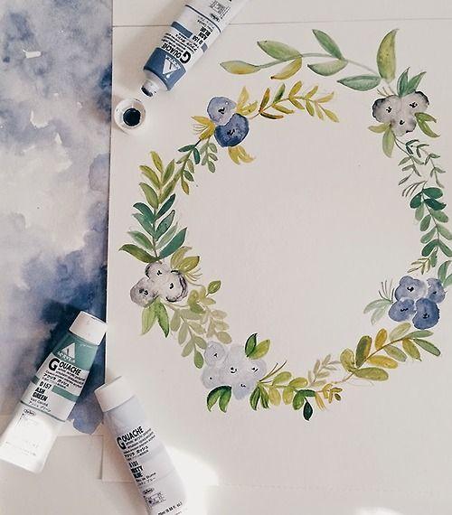1 Tumblr  Crafty  Paint  Pinterest  Pinceladas Trazos y Acuarela