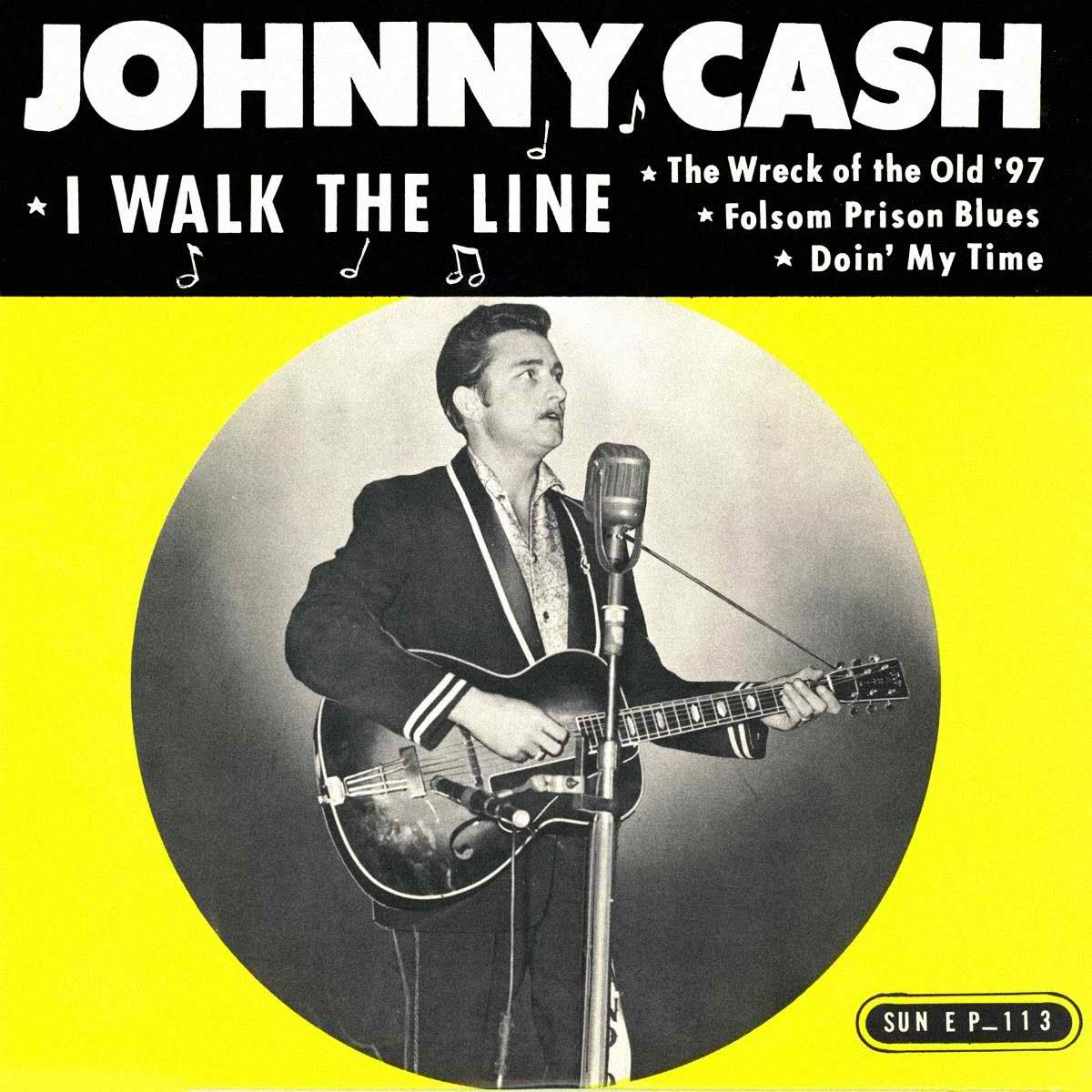 I Walk The Line Johnny Cash Rock Island Music History