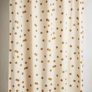 Peach Colored Shower Curtain