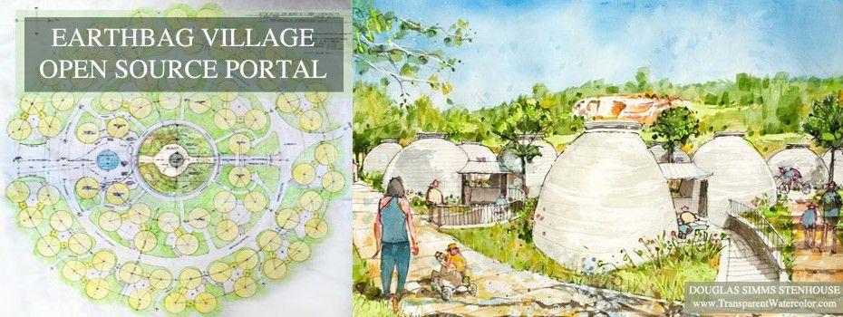 Earthbag Village Economical Ecological Artistic Durable