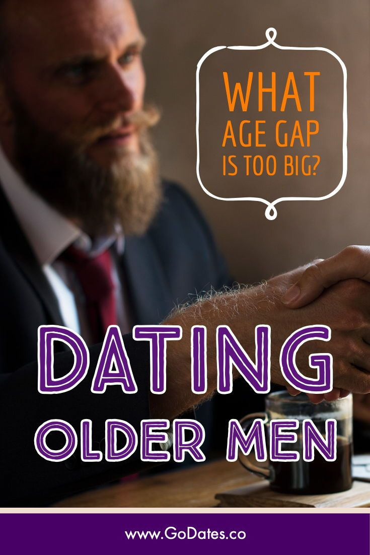 dating a man 18 years older