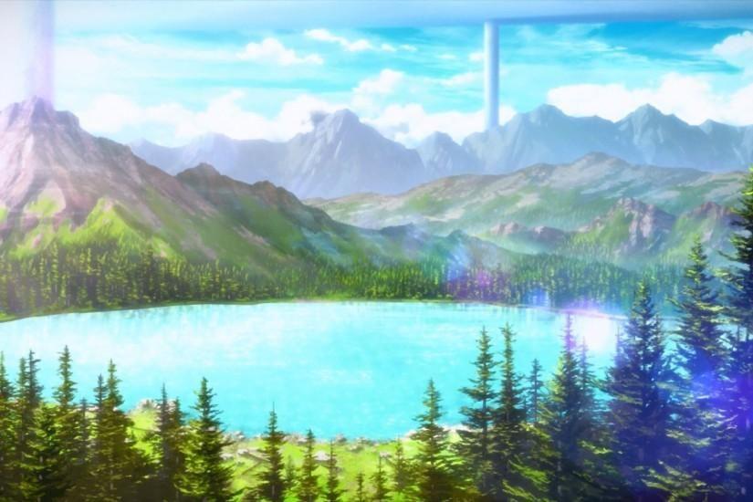 Widescreen Anime Scenery Wallpaper 1920x1080 Anime Scenery Wallpaper Anime Scenery Sword Art Online Wallpaper