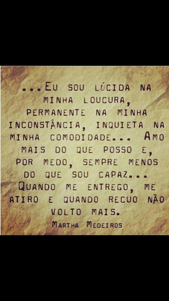 Martha Medeiros Frases Indiretas Frases Legais E Frases
