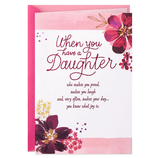 Daughter 40th Birthday Card Google Search In 2020 40th Birthday Cards Valentine Wishes Happy Valentine
