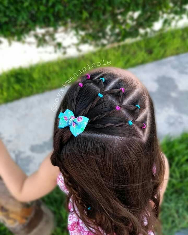 Hairstyles For Communion Upstyles: Pin By Fabiola Ponce On Girls Hairstyles