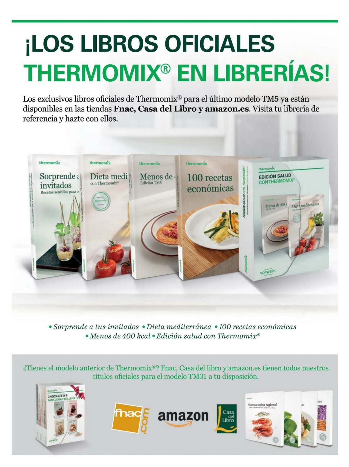 Thermomix Libros Oficiales 090 Abr 16 Ligero Y Fácil Thermomix Thermomix Make It Simple