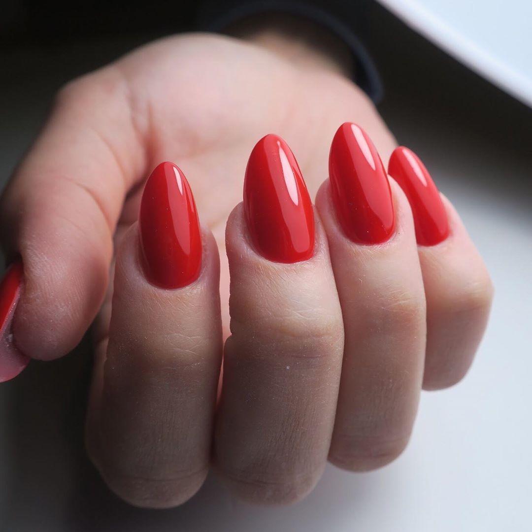 Taka Metamorfoza Przeciagnij W Bok Zeby Zobaczyc Paznokcie Przed Acrylogel Paznokcieprzedl Red Nails Elegant Nails Love Nails