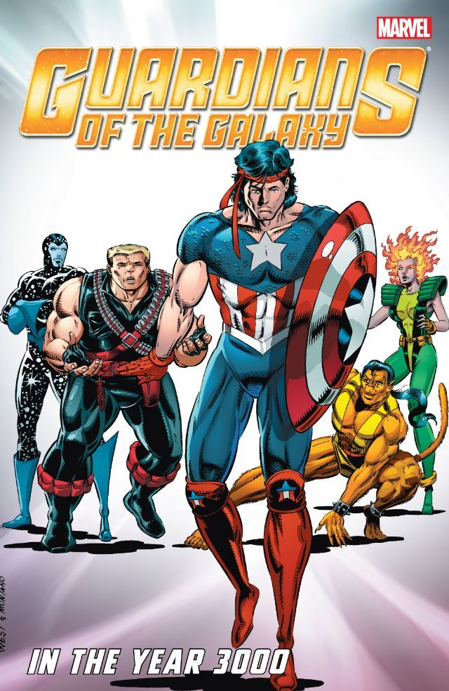 Guardians Of The Galaxy Classic In The Year 3000 Vol 1 Comics By Comixology Guardians Of The Galaxy Marvel Captain Universe