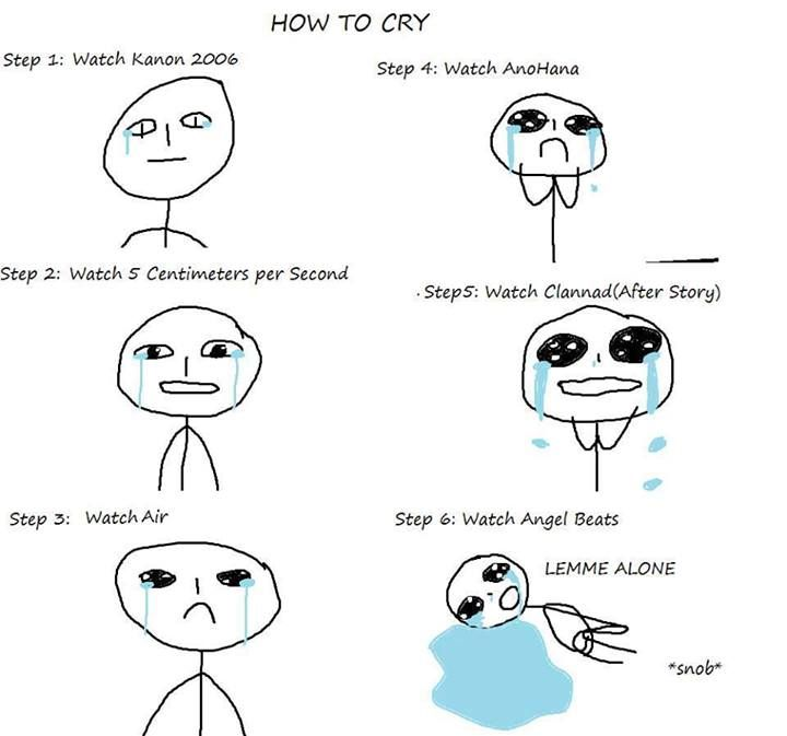 how to cry... :P