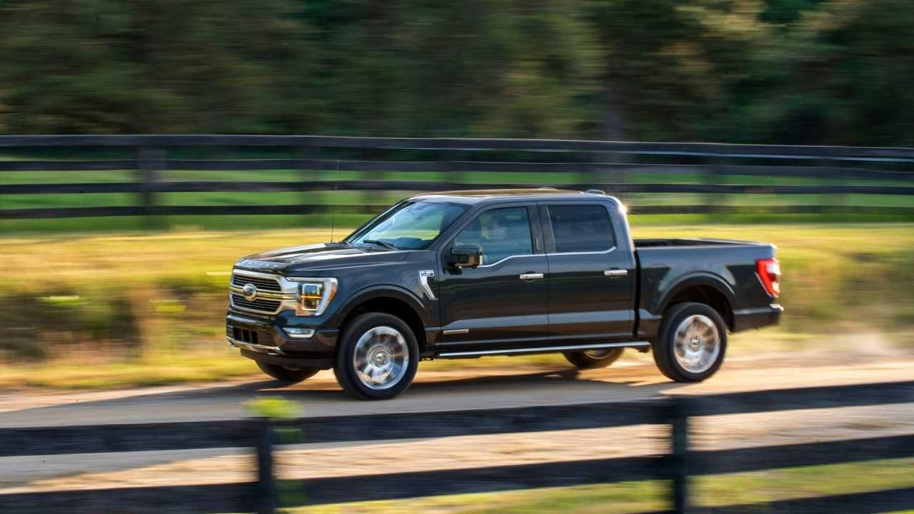 Nova Ford F 150 2021 é Híbrida Dirige Sozinha E Deve Vir Ao Brasil Ford F150 Ford Trucks