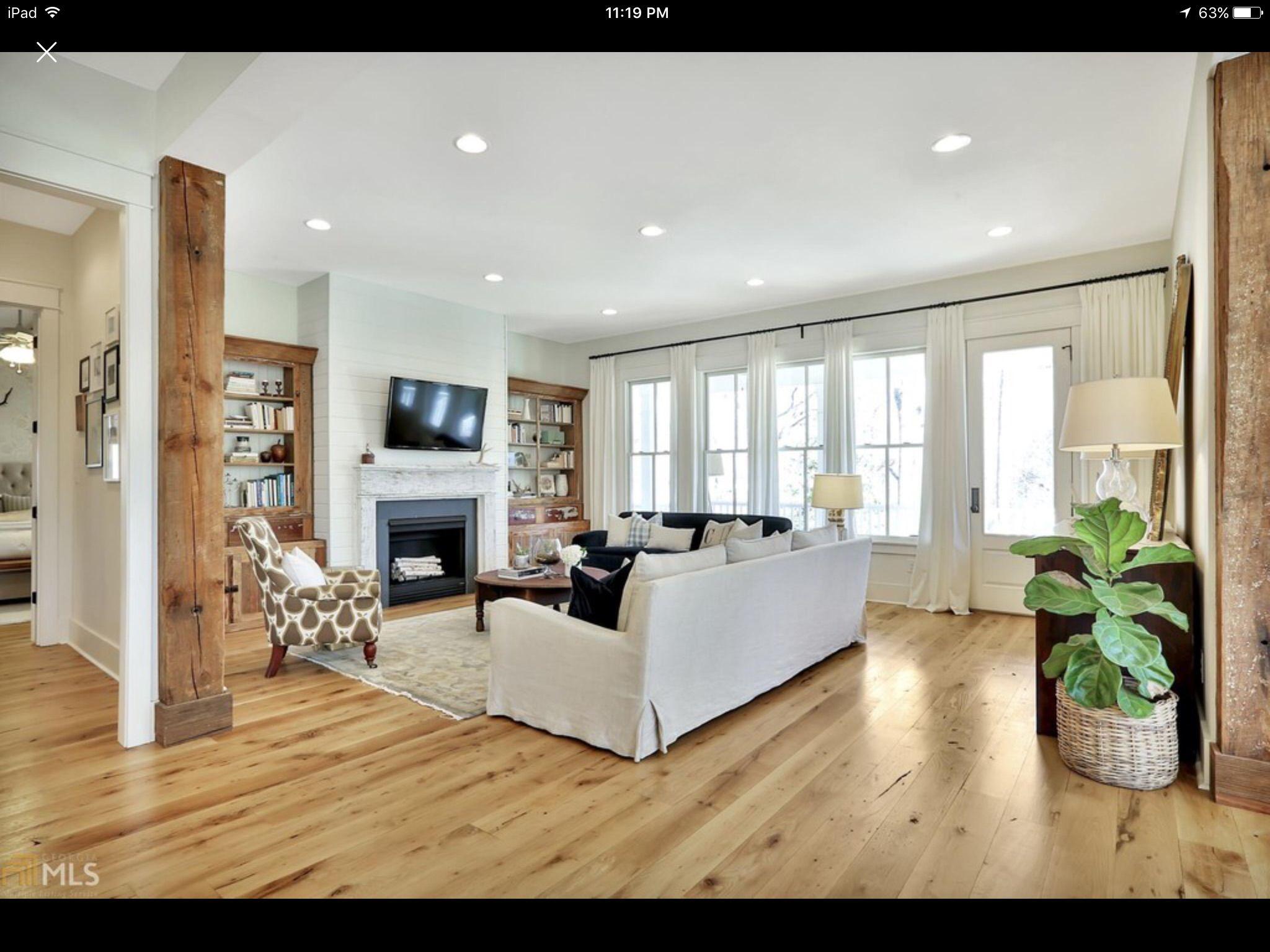 Farmhouseforfour den | Southern living house plans ...