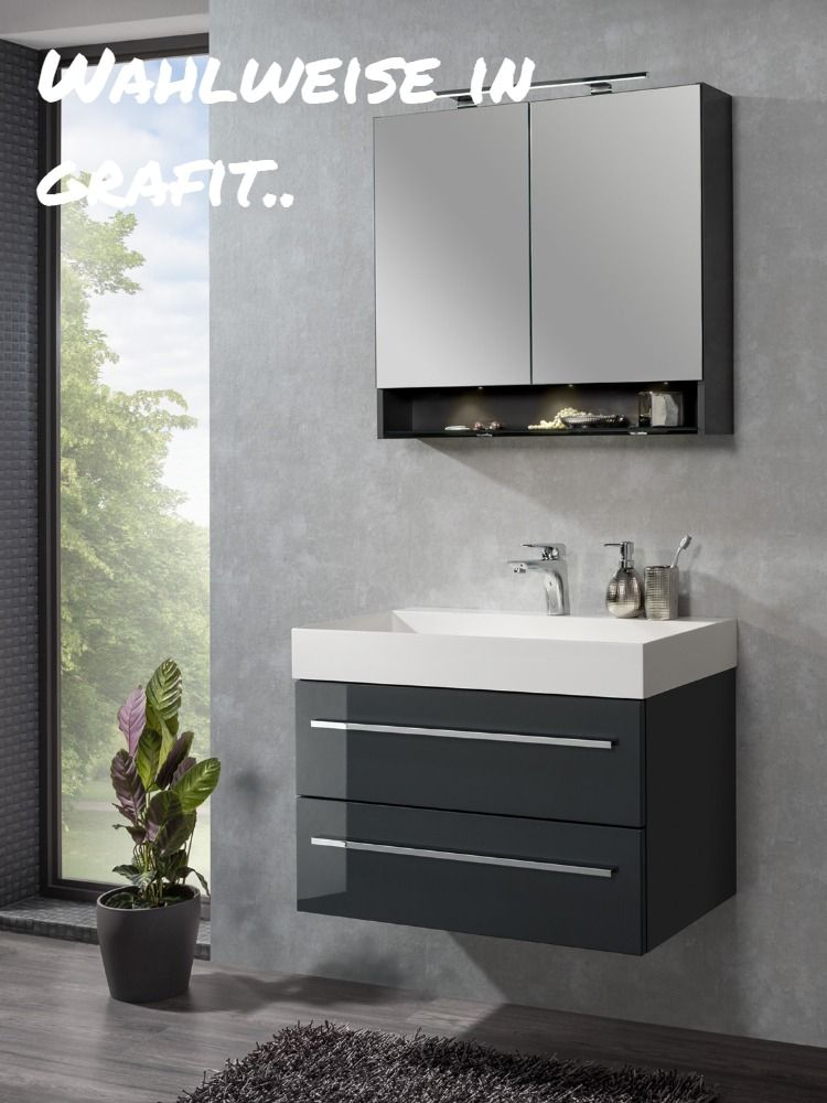 Stylisches Komplett Set Fur Das Badezimmer Von Heute 80cm Breiter