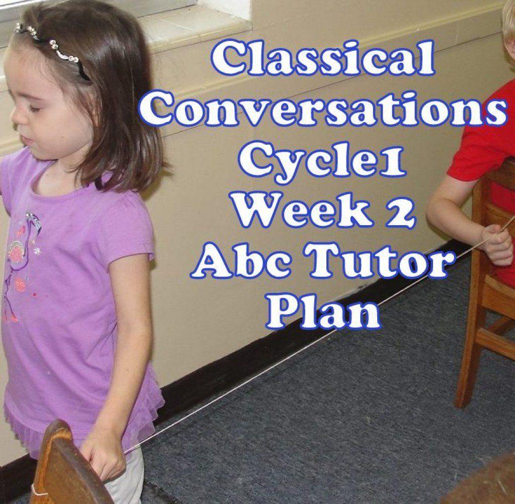 Cc Cycle 1 Week 2 Plan For Abecedarian Tutors