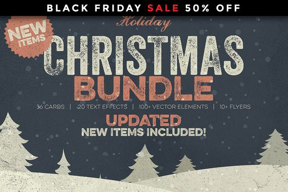 Christmas Bundle by Zeppelin Graphics on Creative Market