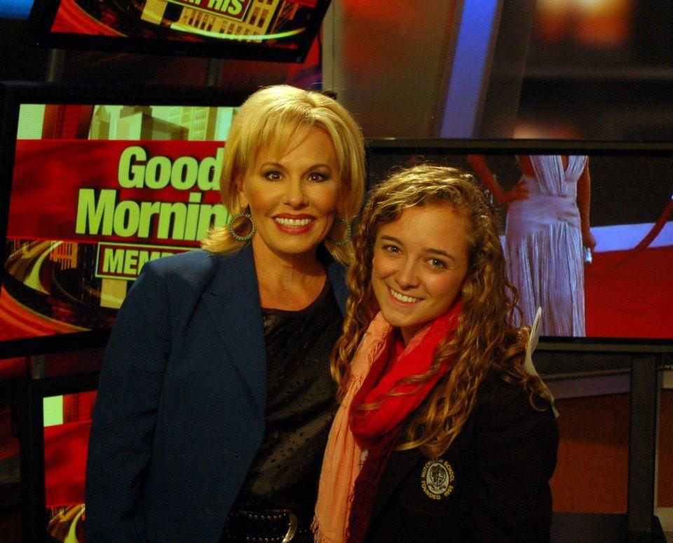 Hutchison senior Cady Herring visited Fox 13's Good