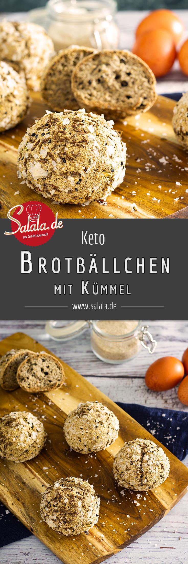 Würzige Keto-Brotbällchen   salala.de – Low Carb leicht gemacht