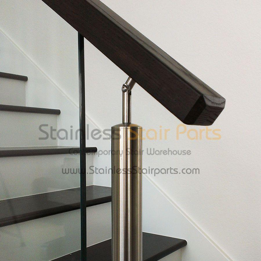 Best 8 Ft Contemporary Rectangular Handrail 2 3 4 X 1 9 16 640 x 480