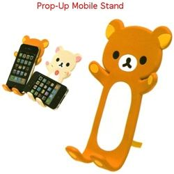 Perfect for watching videos on your phone without holding it!  With a stand in the back to prop it up.  You bend his arms and legs to make a nice cradle for your phone.