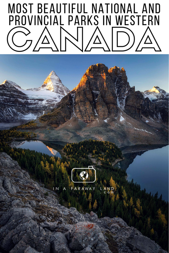 Western Canada's Most Beautiful National and Provincial