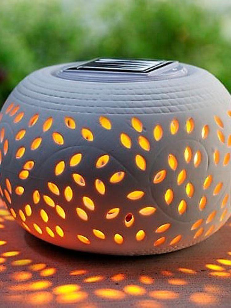 Solar Tischleuchte Ceramica Jetzt Bei Weltbild De Bestellen Tischleuchte Solarleuchten Solar