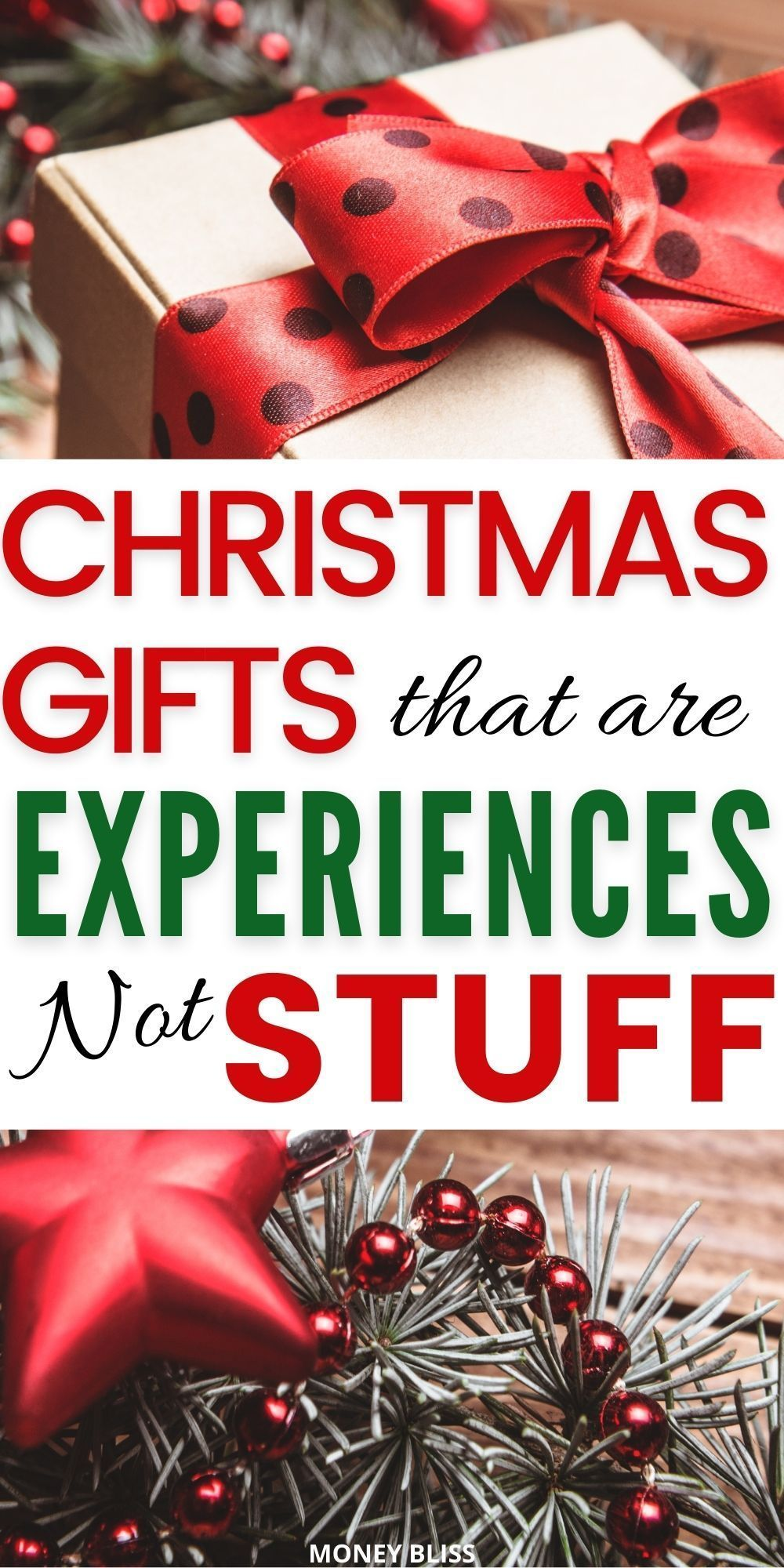 The Best Christmas Gift Experiences That You Need To Know Money Bliss In 2020 Christmas Experiences Meaningful Christmas Gifts Meaningful Christmas