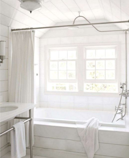 If You Can T Do Clawfoot Tub Shower This Looks Very Nice For A