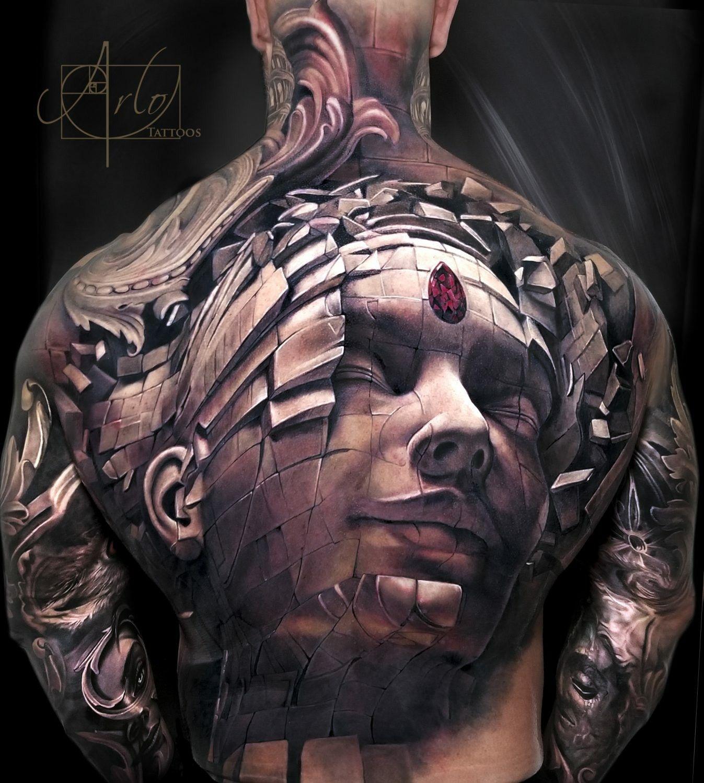 Arlo Dicristina Tattoo Artist: Big Tattoo, Tattoos For Guys, Back Tattoos