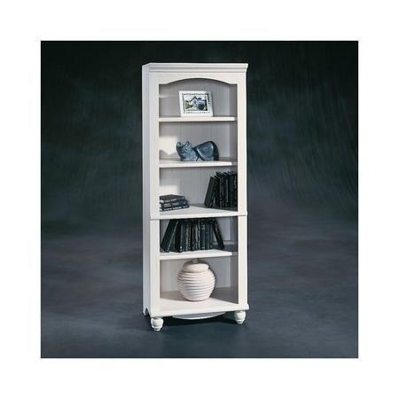 Home Sauder Furniture White Bookcase Open Bookcase