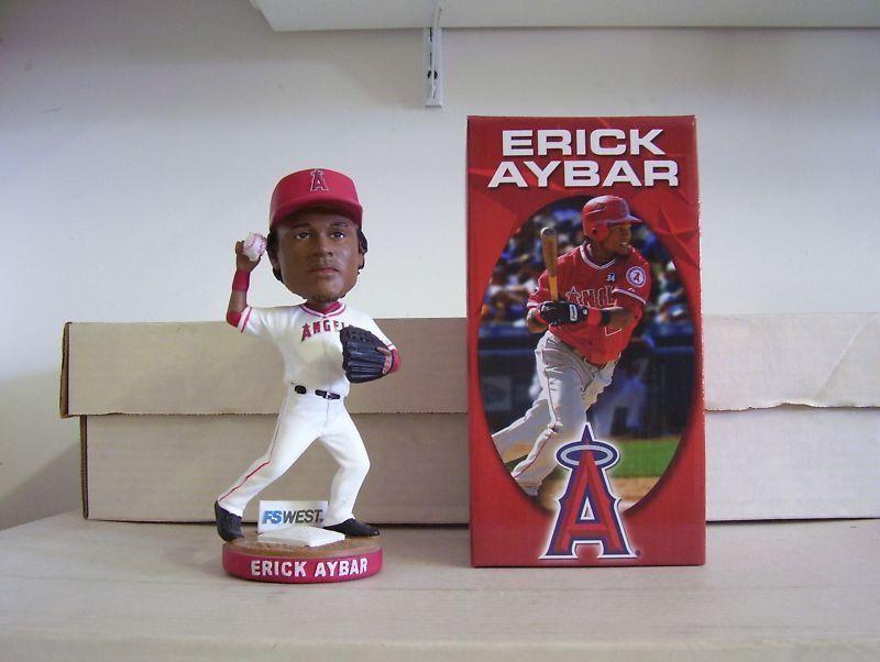 Erick Aybar Bobblehead Bobble head, Fox sports, Baseball