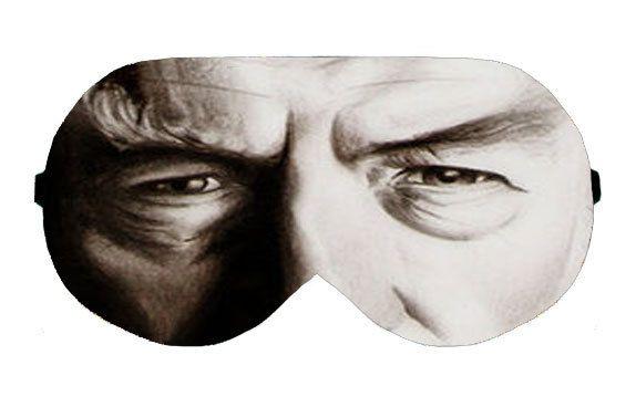 Gandalf Wizard The Grey White Sleep Sleeping Eye Mask Masks Blindfold Eyemask Eyeshade Sleepmask Eyes Shade cover kit Slumber Slumbers Gift by venderstore on Etsy