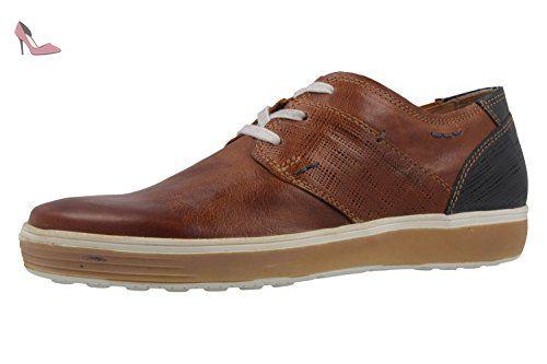 FRETZ mEN chaussures pour homme marron chaussures en matelas grande taille - Marron - Marron, 47
