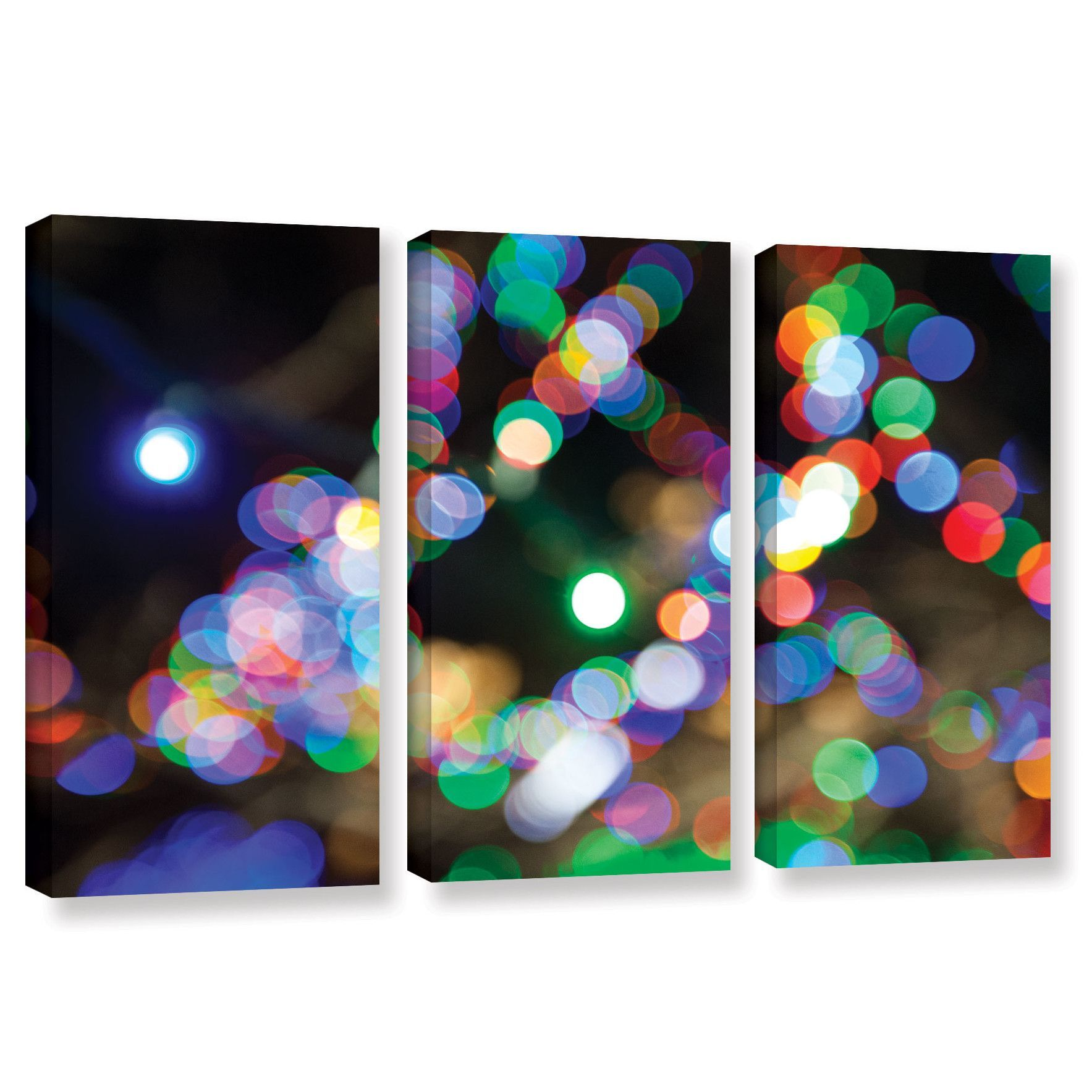 Bokeh by cody york piece gallerywrapped canvas set products