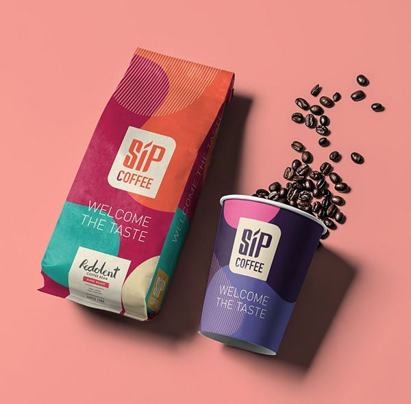 SIP Coffee - Branding Proposal on Behance -