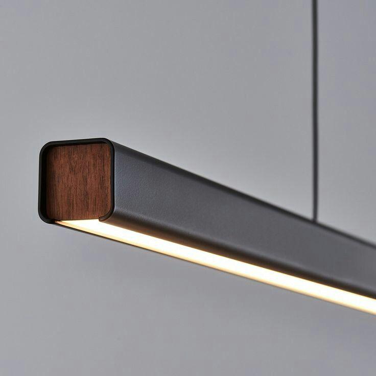 Pin By Marc Neuhaus On 조명 Linear Pendant Lighting Modern Lighting Design Linear Lighting