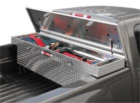 Delta Aluminum Single Lid Crossover Toolbox - Gen 2, Delta - Truck Toolboxes - Crossover Toolboxes