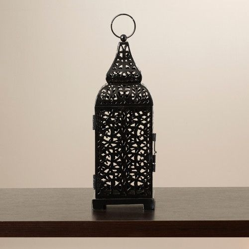 Found it at Wayfair - Lantern in Black