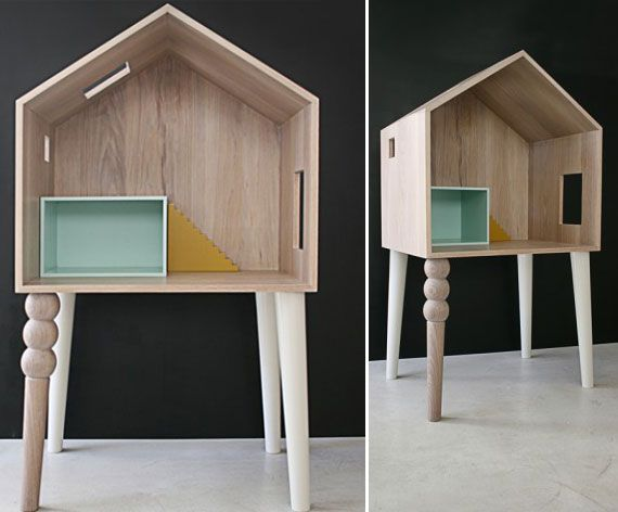 kunstzinnig poppenhuis