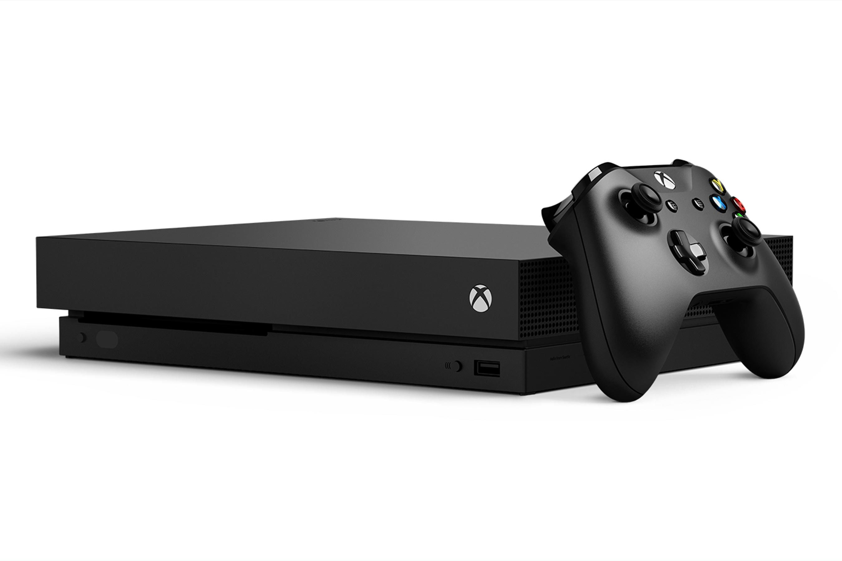 Xbox One X Is A Premium Console At A Premium Price Ew Review Xbox One Xbox Xbox One S