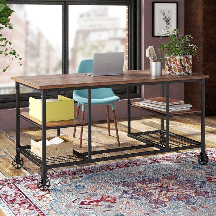 Trent Austin Design Brooksburg Solid Wood Desk Solid