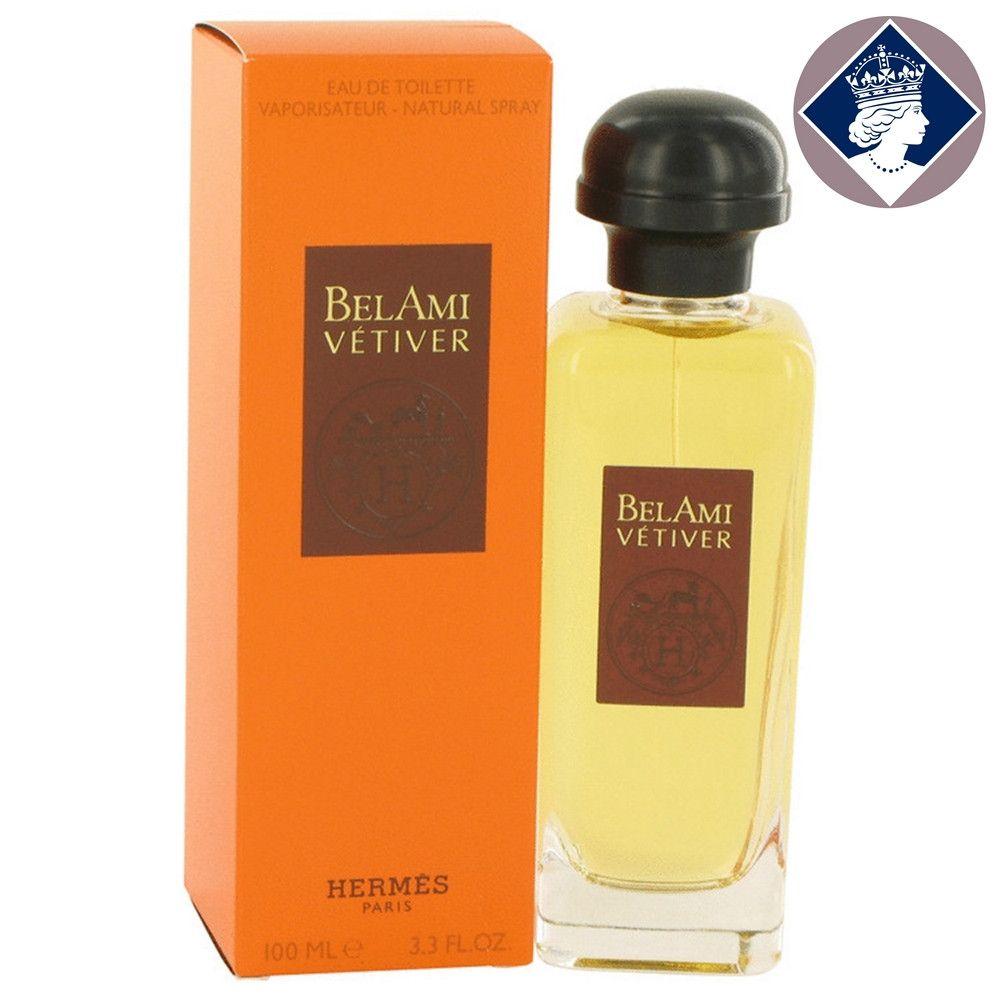Hermes Bel Ami Vetiver 100ml 3 3oz Eau De Toilette Men Cologne Spray Fragrance Eau De Toilette Vetiver Hermes Fragrance