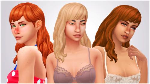 Pin De Fairycop En Sims 4 Cas Cabello