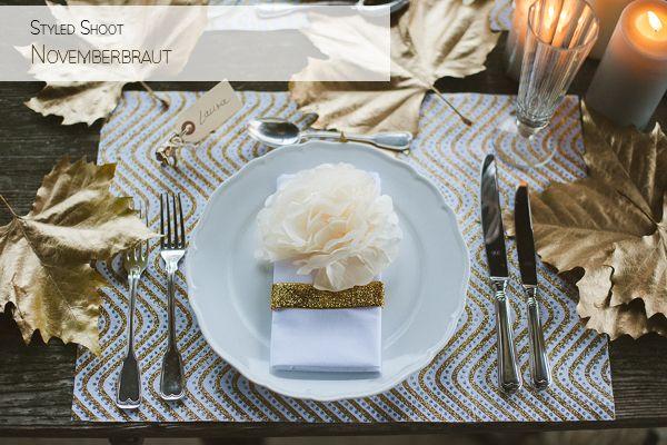 Hochzeitsdeko gold silber