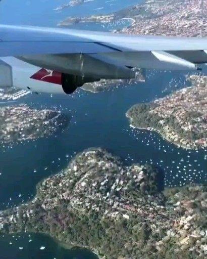 Qantas Flight Wing View Aviation Video In 2020 Airplane Window View Qantas Airlines Aviation
